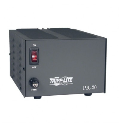 Tripp Lite 20-Amp DC power Supply Black adapter & inverter